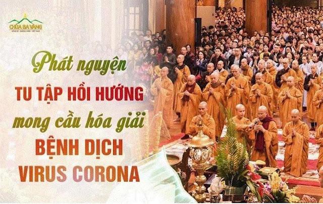 Covid-19: Đã đến lúc các chùa lớn như Bái Đính, Ba Vàng, Tam Chúc phát tâm đấy ạ