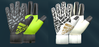 PES 2016 New Adidas Ace Trans Ultimate 2016-2017 Goalkeeper Gloves by T09