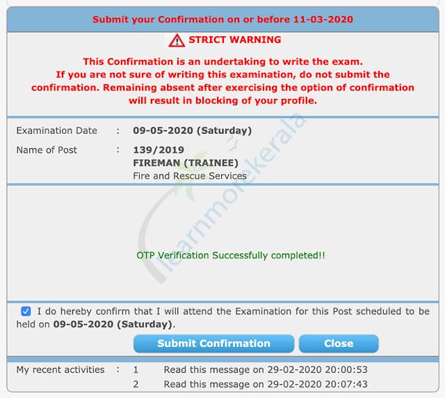 otp verification successful