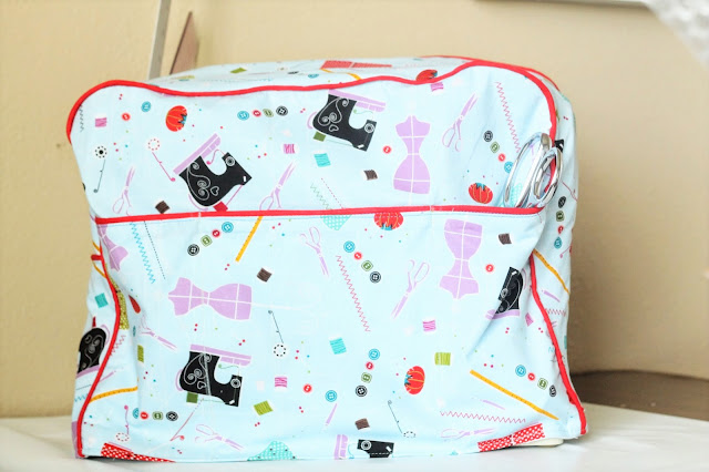 diy sewing machine case
