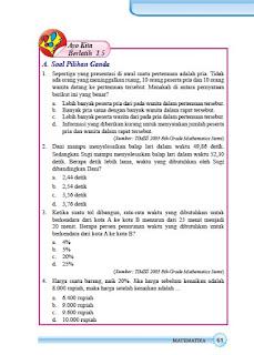 kunci jawaban matematika smp kelas 7 halaman 61