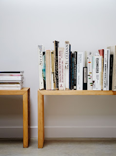 bench with books