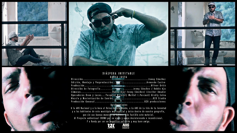 Kausa Justa - ¨Diáspora inevitable¨ - Videoclip - Directora: Jenny Sánchez. Portal Del Vídeo Clip Cubano. Música de Cuba. Hip Hop. Rap. Música urbana.