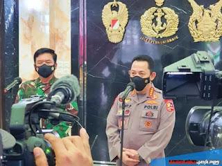 Kapolri Bertemu Panglima TNI Bicarakan Sinergitas dan Soliditas TNI-POLRI