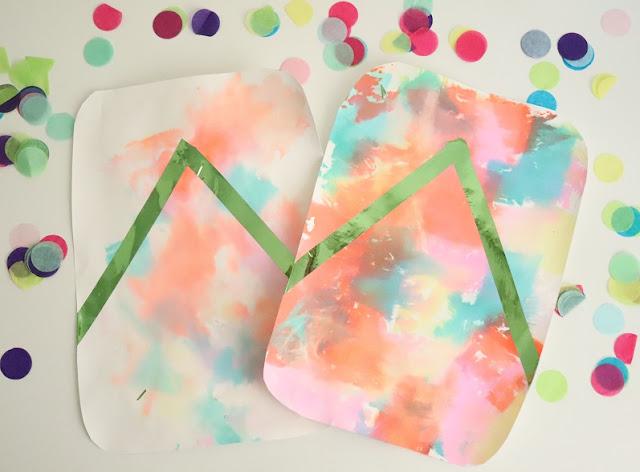 peinture-papier-crepon-eau