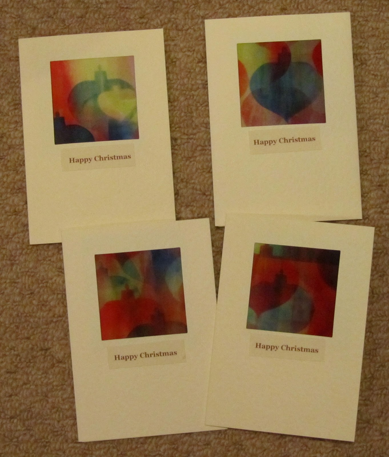 Charlton Stitcher: Textile Christmas Cards with Transfer Dyes