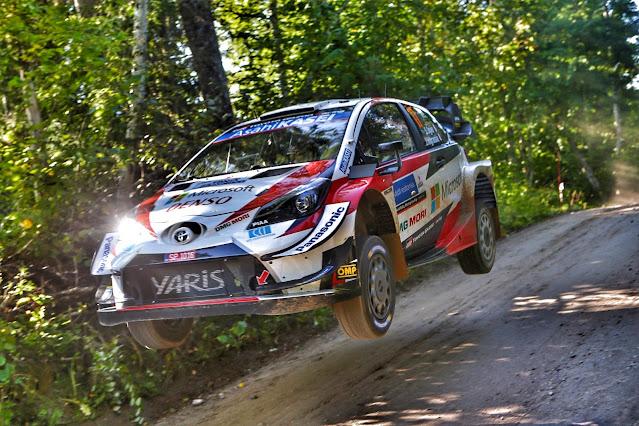 Toyota WRC Yump Estonia
