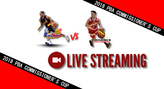 Livestream List: Rain or Shine vs Phoenix June 16, 2018 PBA Commissioner's Cup