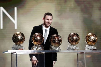 Lionel Messi wins sixth Ballon d'Or award, overtaking Cristiano Ronaldo