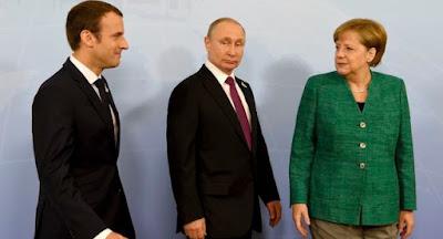 """Меркель анонсировала телефонные переговоры """"нормандской четверки"""""""