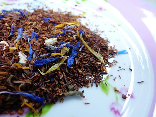 rooibos tea, floral tea