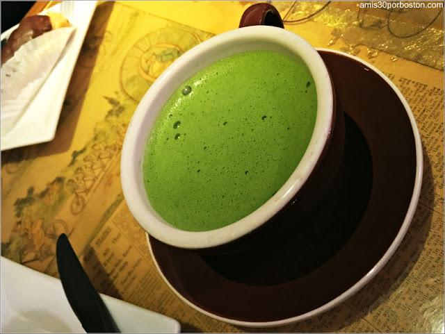 Matcha en Cafeterías de Boston: Thinking Cup
