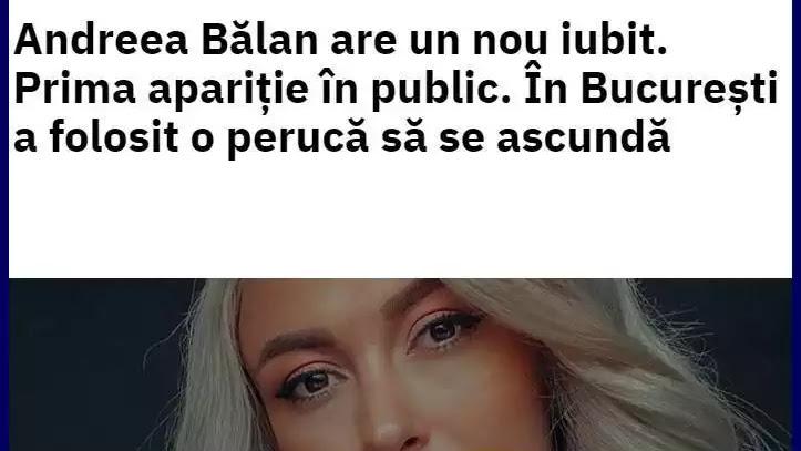 Wiki Tiberiu Argint și Andreea Bălan. Cancan cu fratele Soniei Argint noul iubit al Andreei Bălan.