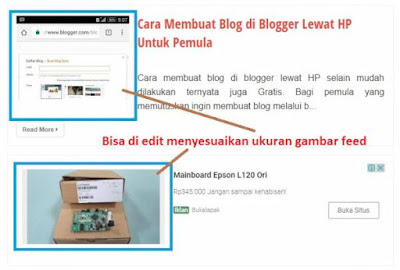 Cara Edit Iklan Infeef Google Adsense, Unit Iklan In-Feed Ad