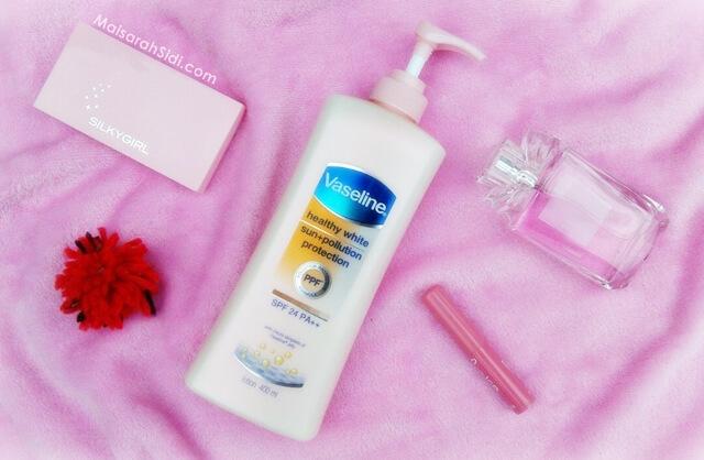 Losyen Kegemaran, Vaseline Healthy White Sun Pollution Protection