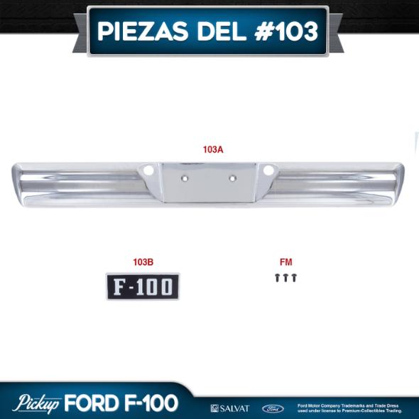 Entrega 103 Ford F-100