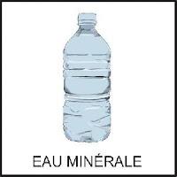 L'eau en bouteille, eau minerale