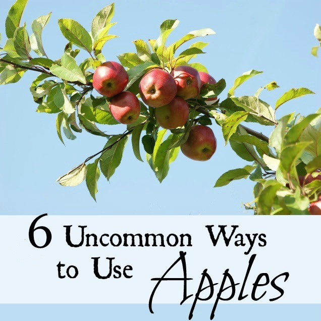 Six uncommon ways to use apples.