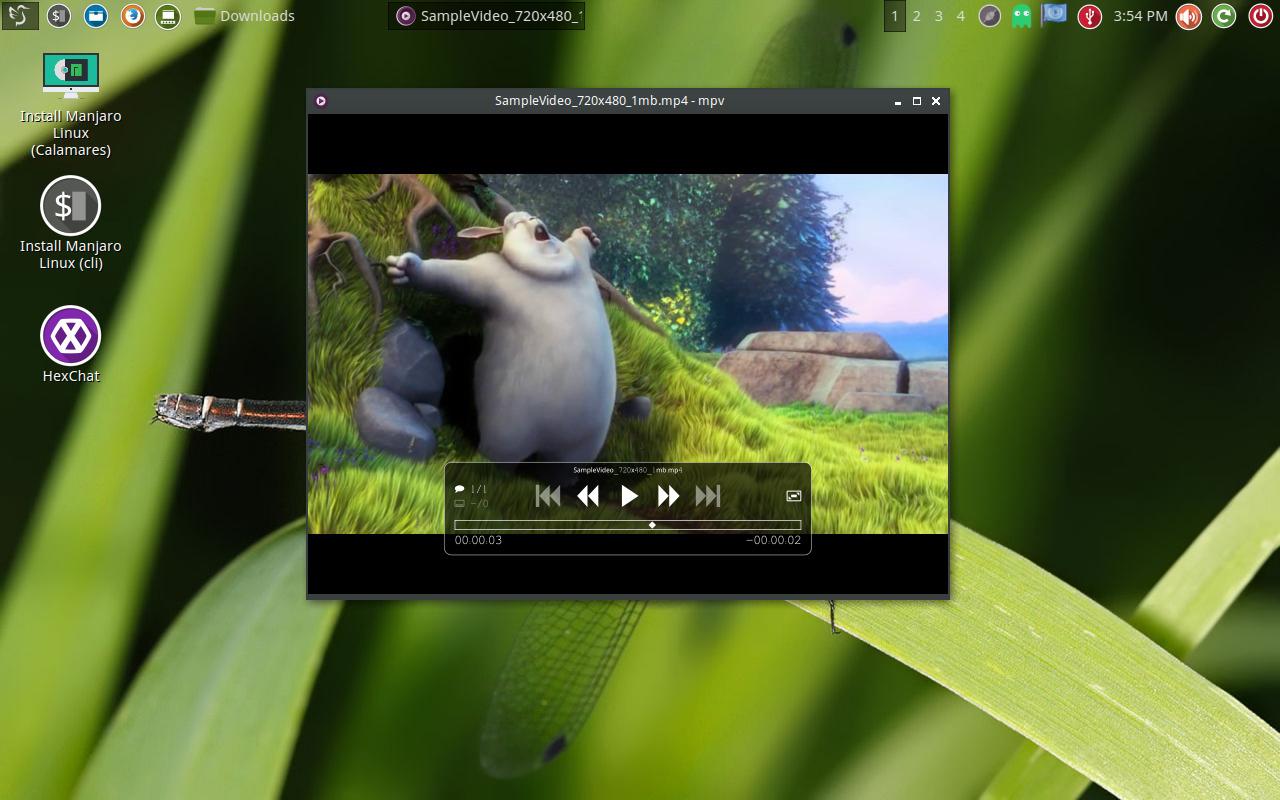 Manjaro LXQt Dark 16 04 screenshots - DistroScreens