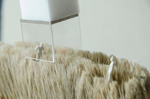 pędzel - architektura abstrakcyjna