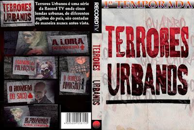 Série Terrores Urbanos DVD Capa