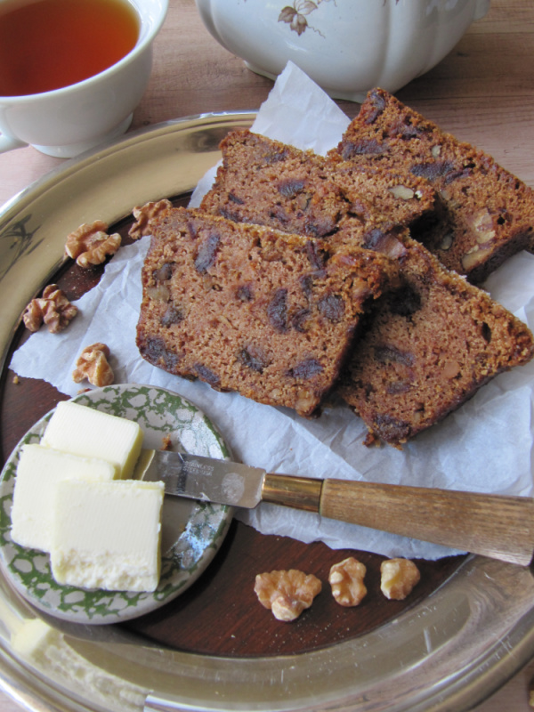 Walnut Date Bread