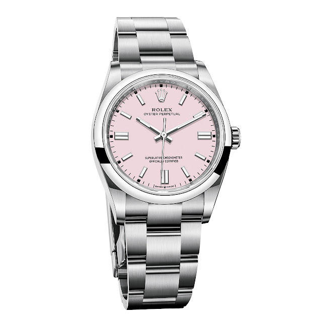 Rolex Oyster Perpetual 36 mm Candy Pink