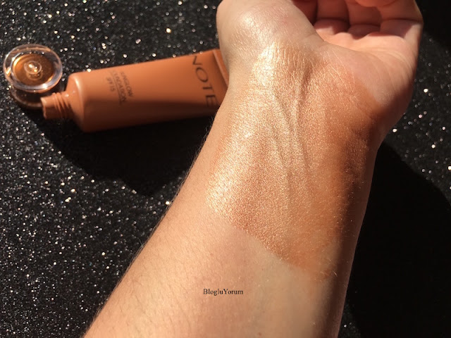 note sunglow foundation fondöten 10 swatch2