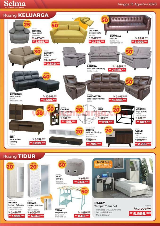 Katalog Promo SELMA Furniture Terbaru Juni Juli Agustus 2020 2