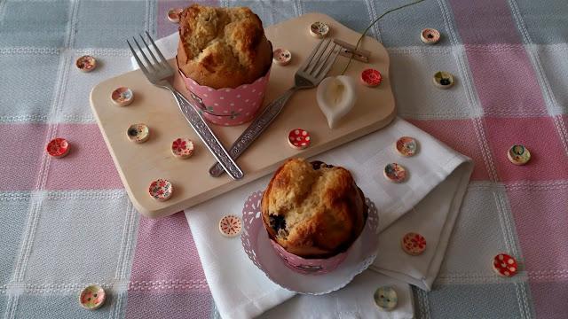 muffins leche condensada chocolate blanco moras fácil rico delicioso horno desayuno merienda postre