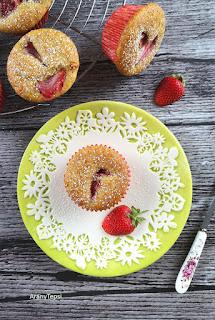 Epres-bodzás muffin bögrésen