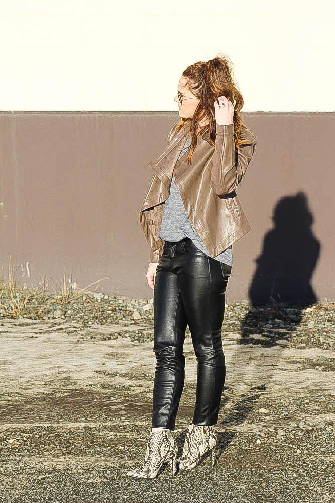 Street Style- Leather Pants