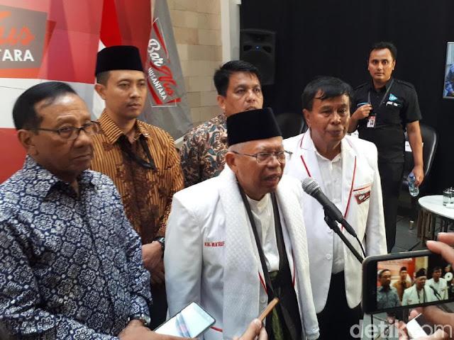 Pakai Istilah 'Budek-Buta' soal Prestasi Jokowi, Ma'ruf Amin Sebut Termuat dalam Alquran