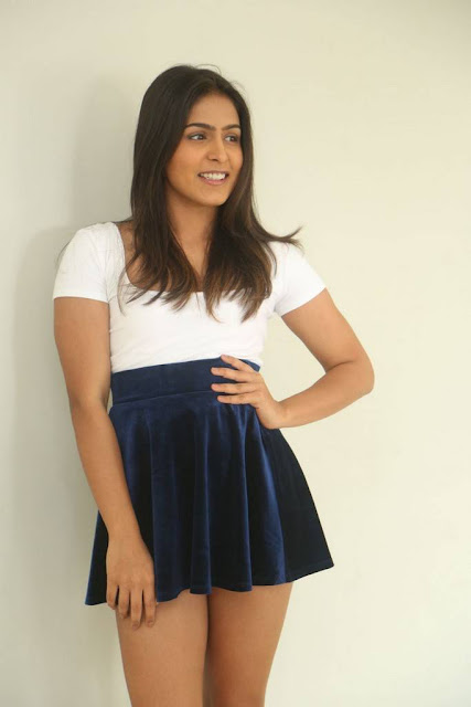 Samyuktha Hegde Kirrak Party Movie Press Meet Stills