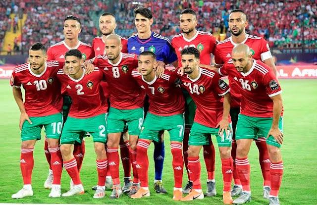 تشكيل منتخب المغرب امم افريقيا 2019 عبر سوفت سلاش