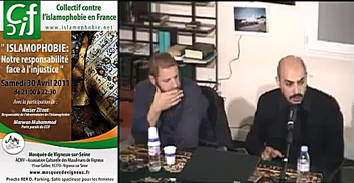 Conférence de Marwan Muhammad à  la mosquée de Vigneux, avril 2011