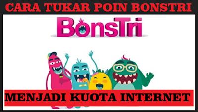 Cara tukar poins bonstri menjadi paket internet
