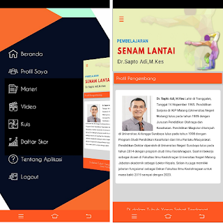 Jasa Pembuatan Aplikasi Pembelajaran Senam Lantai UNM Malang Jawa Timur