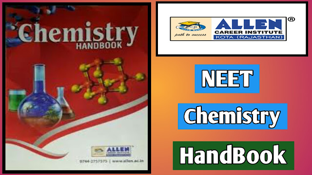 Allen NEET Chemistry HandBook pdf Download Latest Edition