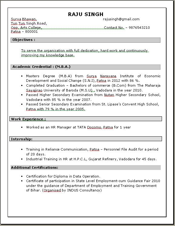 resume examples sample hr manager resume human resources manager