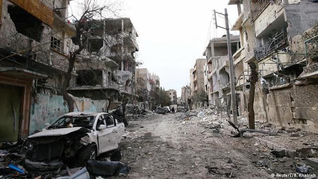 Ghouta : 15 enfants abrités dans une école tués par un raid aérien