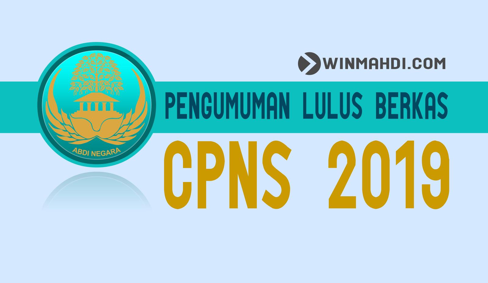 Cara Cek Hasil Lulus Berkas Administrasi CPNS