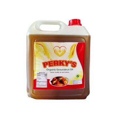 Perky's Organic Groundnut Oil 4 Liters