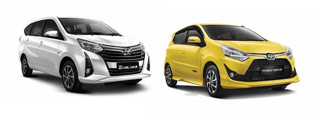 Pilihan Mobil Baru Calya - Agya
