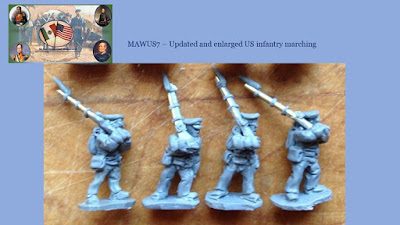 New US infantry marching