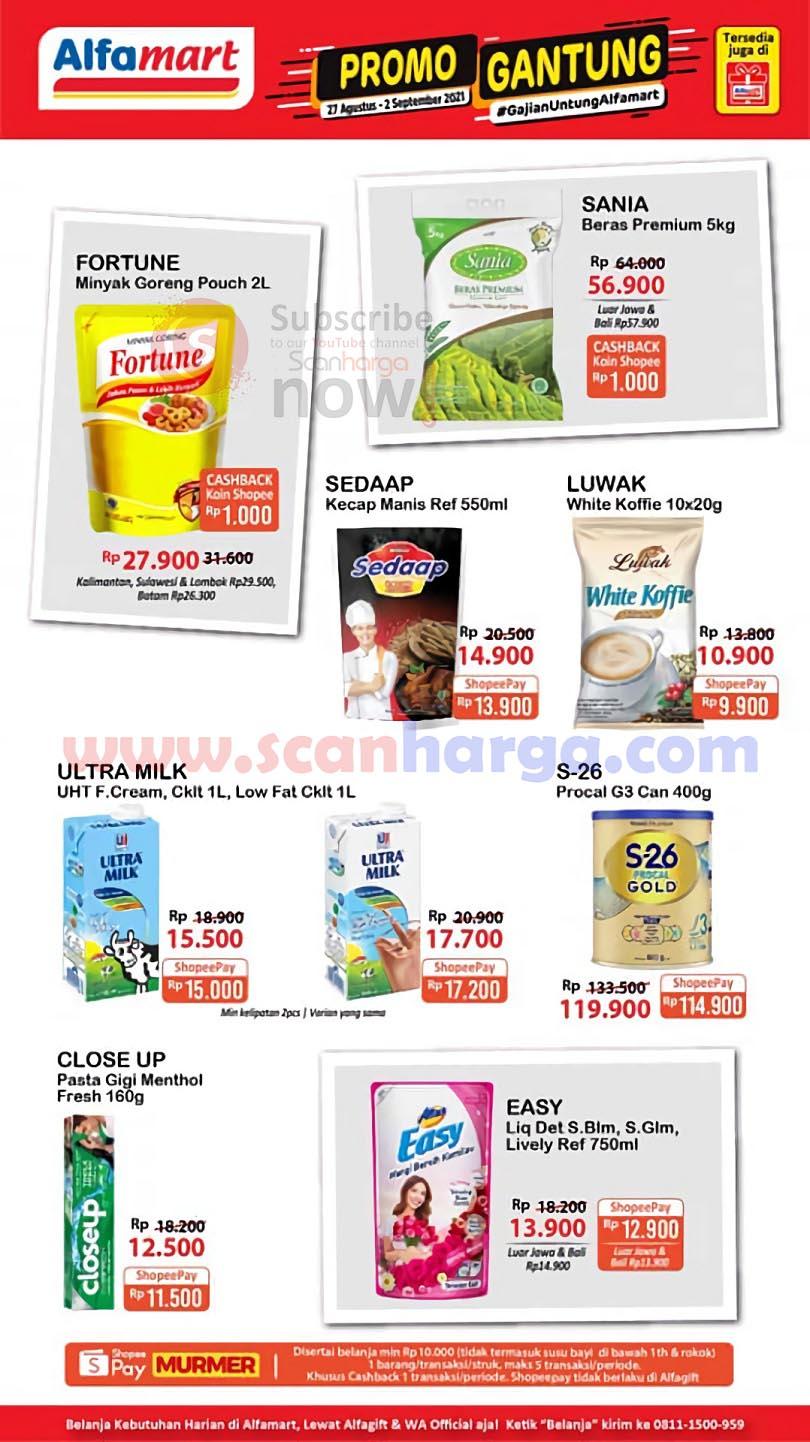 Katalog Promo JSM Alfamart Terbaru 27 Agustus - 2 September 2021