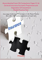 Associateship Exam (III) Compulsory Paper IC 46 General Insurance Accounts Preparation and Regulation