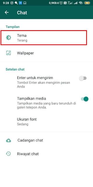 Cara Mengubah Gelembung Whatsapp - Tanpa Aplikasi 4