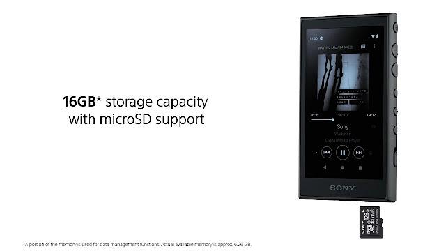 Sony NW-A100 Walkman