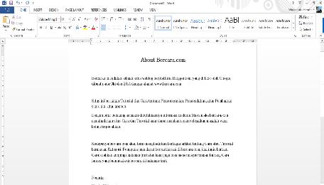 Cara Membuat File PDF dengan Word 2010, 2013